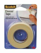 Scotch 178 Freezer Tape 3 4  x 1000 Inches Microwave Safe Labeling
