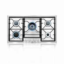 Gas Cooktop  36 Inch Built In Gas Rangetop with High Efficiency 36 INCH