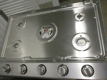 Dacor dtg30p875ns Transitional 30  Built In Gas Cooktop 6 burners missing items