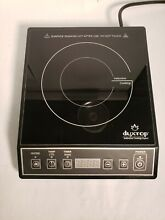 Duxtop 1800w Portable Induction Cooktop 9100MC  Works