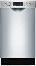 Bosch SPE68U55UC 800 Series 18 Inch Full Console Built In Dishwasher Stainless