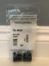 Whirlpool 279834 Coil Valve Kit Replacement Parts for Dryer  02309A  02302B  OEM
