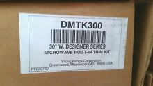 Viking DMTK300 30  Stainless Steel Microwave Trim Kit NEW in Box