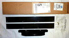 Genuine Whirlpool 8171365 Ice Maker Door Trim Kit 3 4 Door Models Only BLACK NEW