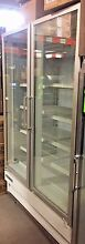 FRIGIDAIRE ULG5080 4 DOUBLE SWING GLASS DOOR FREEZER COMMERCIAL TWO 2 220v