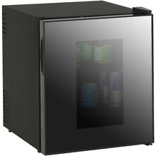 Avanti 1 7 CuF Superconductor Beverage Cooler with Mirrored Glass Door SBCA017GI
