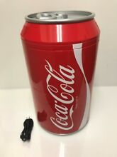 Koolatron Coca Cola Retro Can Shaped Personal Mini Fridge  LP2068769