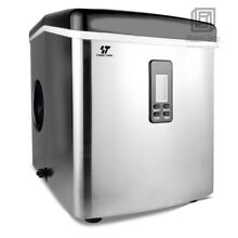 Compact Ice Maker Portable Deluxe Mini Cube Counter Top Machine