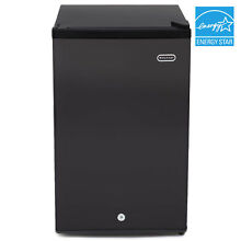 Whynter CUF 301BK 3 0 cu  ft  Energy Star Upright Freezer with Lock  Black