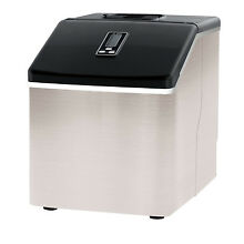 Igloo 40LBS High Capacity Countertop Clear Square Ice Cube Maker