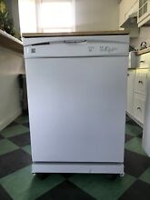 Kenmore 24  Portable Dishwasher   White  Barely used