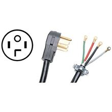 Certified Appliance 90 2028 Closed Eyelet 4 Wire Dryer Cord   10ft
