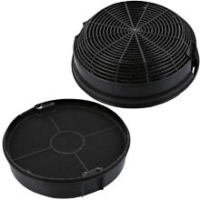 2 x WHIRLPOOL Cooker Hood Vent Extractor Fan Carbon Anti Odour Charcoal Filter