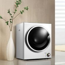 Home Electric Stainless Steel Wall Mounted Tumble Compact Cloth Dryer White US