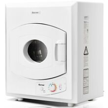 Home Electric Tumble Compact Laundry Dryer Stainless Steel Wall Mounted 1400W US