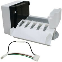 EXACT REPLACEMENT PARTS Ice Maker for Whirlpool R  Refrigerators  W10190961
