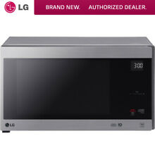 LG 1 5 Cu  Ft  NeoChef Countertop Microwave in Stainless Steel   LMC1575ST