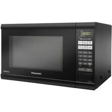 Panasonic 1 2 Cu  Ft  Microwave Oven in Black w  Inverter Technology
