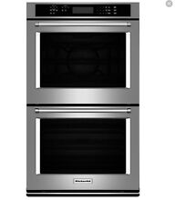 Kitchenaid 30   Stainless Steel Double Convection Oven Kode 300ESS