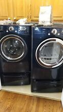 LG WM3488HW 24  White Front Load Steam Laundry Combo Oob  10708
