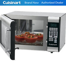 Cuisinart Stainless Steel Microwave  CMW 100  1 Cu  Feet