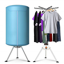 Costway Portable Ventless Laundry Clothes Dryer Heater 900W Electric Folding Air