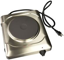 Cadco PCR 1S Professional Cast Iron Range  Stainless