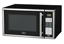 Oster OGB7901 0 9 cu  ft  Digital Countertop Microwave Oven   Black