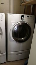 Samsung washer and Electric Dryer w drawers
