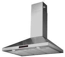 Kitchen Bath Collection 30 inch Wall mounted Stainless Steel Range Hood with of