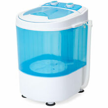 BCP Portable Mini Washing Machine w  6 6lb Capacity  15 Minute Timer  Auto Stop