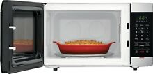 Frigidaire 1 1 Cu  Ft  Stainless Steel Microwave Oven