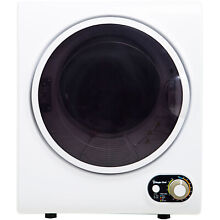 Magic Chef 1 5 Cu  Ft  Compact Electric Dryer in White