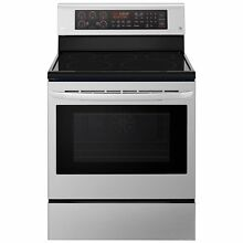 LG LRE3194ST 6 3 cu ft Electric Single Oven Range w  True Convection Easy Clean