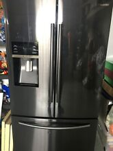SAMSUNG 28 07 Cu Ft  French Door Refrigerator in Stainless Steel  Silver