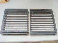 Pair of Jenn Air Black Grates for Downdraft Range Cooktop Grill