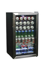 New    Newair 126 Can Stainless Steel Refrigerator Cooler