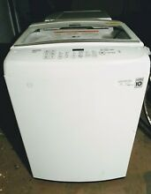LG  Wash Machine  Washing Machine  Washer  Top Load  Like Brand New  White