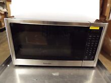 Kenmore 75653 1 2 cu ft  Microwave Oven   Black Stainless Steel  NEW