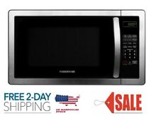 1000 Watt Microwave Oven with LED Lighting  Stainless Steel
