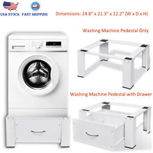 Washing Machine Pedestal Non Slip Steel Pedestal Stands 24 8  x 21 3  x 12 2