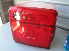 Sharp Half Pint Mini Camper RV Dorm Boat RED R 120DS Microwave Oven 0 5 Cu