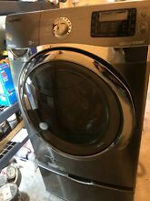 Samsung Washer  Used  Good Condition  13 SteamCycles  Pedestal sold separately