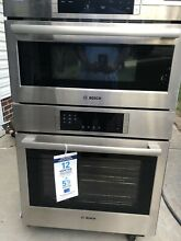 Bosch 800 Series HBL87M52UC 30 Inch Microwave Combination Wall Oven