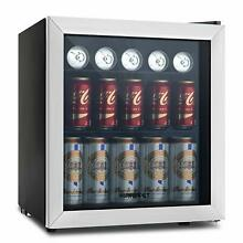 Mini KUPPET 62 Can Beverage Cooler Refrigerator adjustable shelves glass door