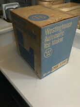 NEW   Westinghouse Automatic Ice Cube Maker Kit for Refrigerators  IMK 106 White