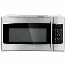 Appliance OvertheRange Microwave Ovens 30 In  W 1 7 Cu  Ft Stainless Steel With