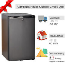 Smad 1 7 cu ft Absorption 2 Way Truck Fridge Camper AC DC Travel RV Refrigerator