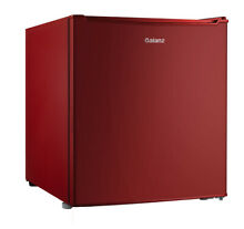 Galanz 2 7 Cu Ft Single Door Mini Fridge GL27RD  Red
