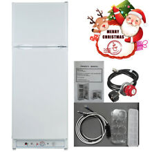 Smad 2 Way 10 cu ft AC Gas Family Hub Fridge Freezer Restaurant Refrigerator Bar